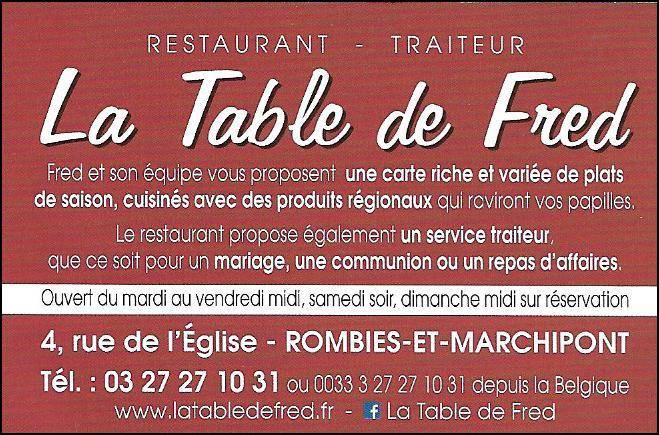 La Table de Fred